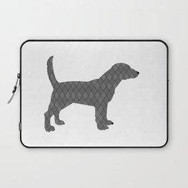 Black beagle Laptop Sleeve