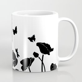 POPPIES AND BUTTERFLIES Coffee Mug