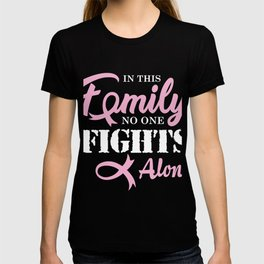 Breast Cancer  Cancer Ribbon T-shirt