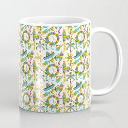 Mexican Fiesta Pinata Pattern Coffee Mug