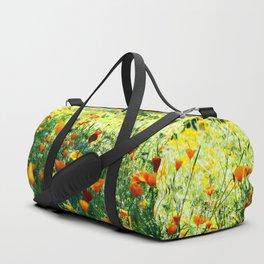 full of flower power Duffle Bag