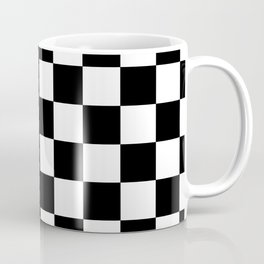 CHECK BOARD (BLACK-WHITE) Coffee Mug