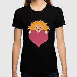 Romantic Lion with heart T-Shirt D5e8y T-shirt