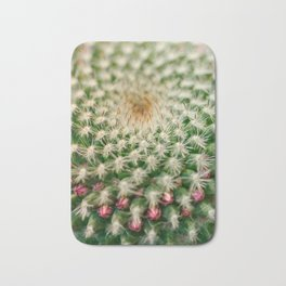 Cactus close-up shot, natural abstract background Bath Mat