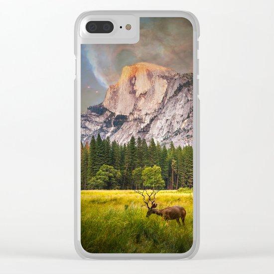Yosemite Magic Clear iPhone Case