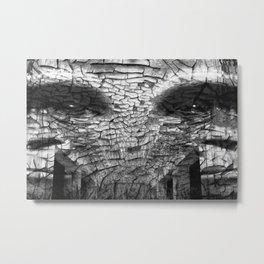 Surreal Gorilla into shadows Metal Print