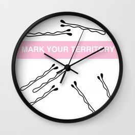 Leave a mark Wall Clock