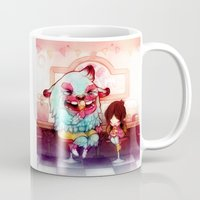 tooth Mugs featuring Sweet Tooth by FlyOkay