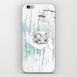 Cat Skull iPhone Skin