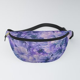 Hibiscus Flower Pattern Fanny Pack