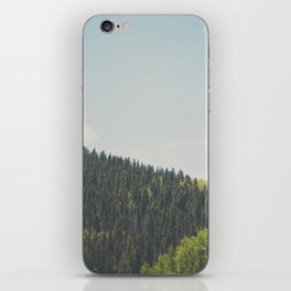 above the tree line ... iPhone Skin