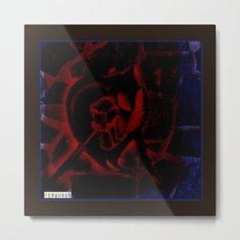 anarchy love Metal Print
