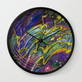 Can You Feel The Music? Wall Clock