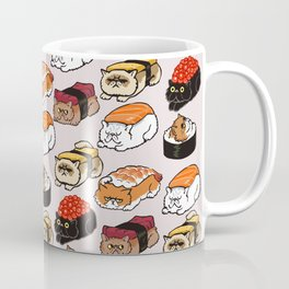 Sushi Persian Cat Kaffeebecher