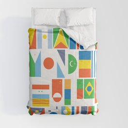 What A Wonderful World II Comforters