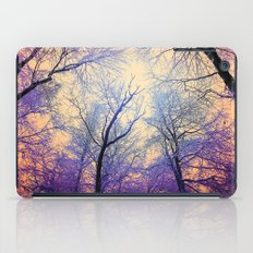 Snow Angel's View - Nature's Painting (color 2) iPad Case