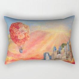 Hot Air Bloom Rectangular Pillow