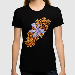 Iris and Butterfly Weeds T-shirt