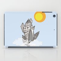 castle in the sky iPad Cases featuring Castle in the sky by marimuc