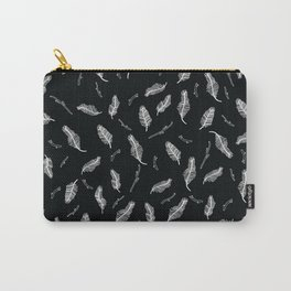 Feathers and Sticks Carry-All Pouch