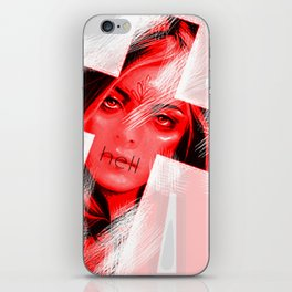 vatican blood iPhone Skin