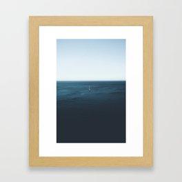 ocean view #society6 #decor #buyart #homedcor Framed Art Print