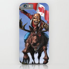 iron canada maiden tour 2020 iPhone Case