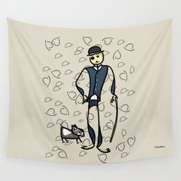 Charlie and the dog Wall Tapestry