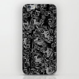 Pixelated Boxes iPhone Skin