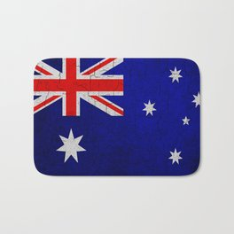 Cracked Australia flag Bath Mat