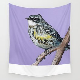 Yellow-Rumped Warbler Wall Tapestry