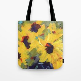Sage and Sunflowers Tote Bag