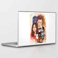 doctor who Laptop & iPad Skins featuring Doctor Who by Richard Howard
