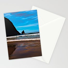 Hay Stack Rock in Half Stationery Cards