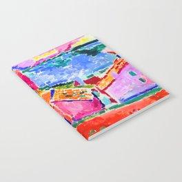 Henri Matisse Les toits de Collioure Notebook