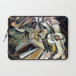 Marcel Duchamp Nude Descending a Staircase Laptop Sleeve