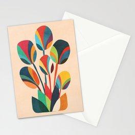 Ikebana - Geometric flower Stationery Cards
