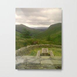 Valley View Metal Print