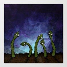 Asparagus After Midnight Canvas Print
