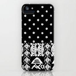 Ethnic seamless pattern with american indian traditional ornament  iPhone Case