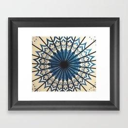Blue orient  Framed Art Print
