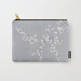 Abstract Japanese Floral Carry-All Pouch