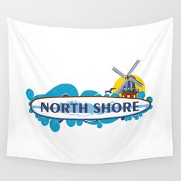 North Shore - Long Island. Wall Tapestry