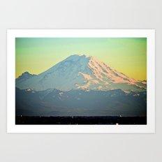 See The World Art Print