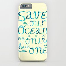 I heart ocean iPhone 6s Slim Case