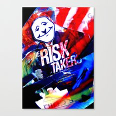 Risk Taker Canvas Print