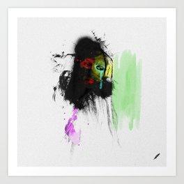 Bartira's   Olhar 1 Art Print