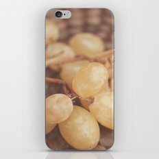 White Muscat Grapes iPhone & iPod Skin