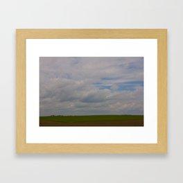 Big Land Big Sky Framed Art Print