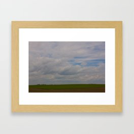 Big Land Big Sky Framed Art Print